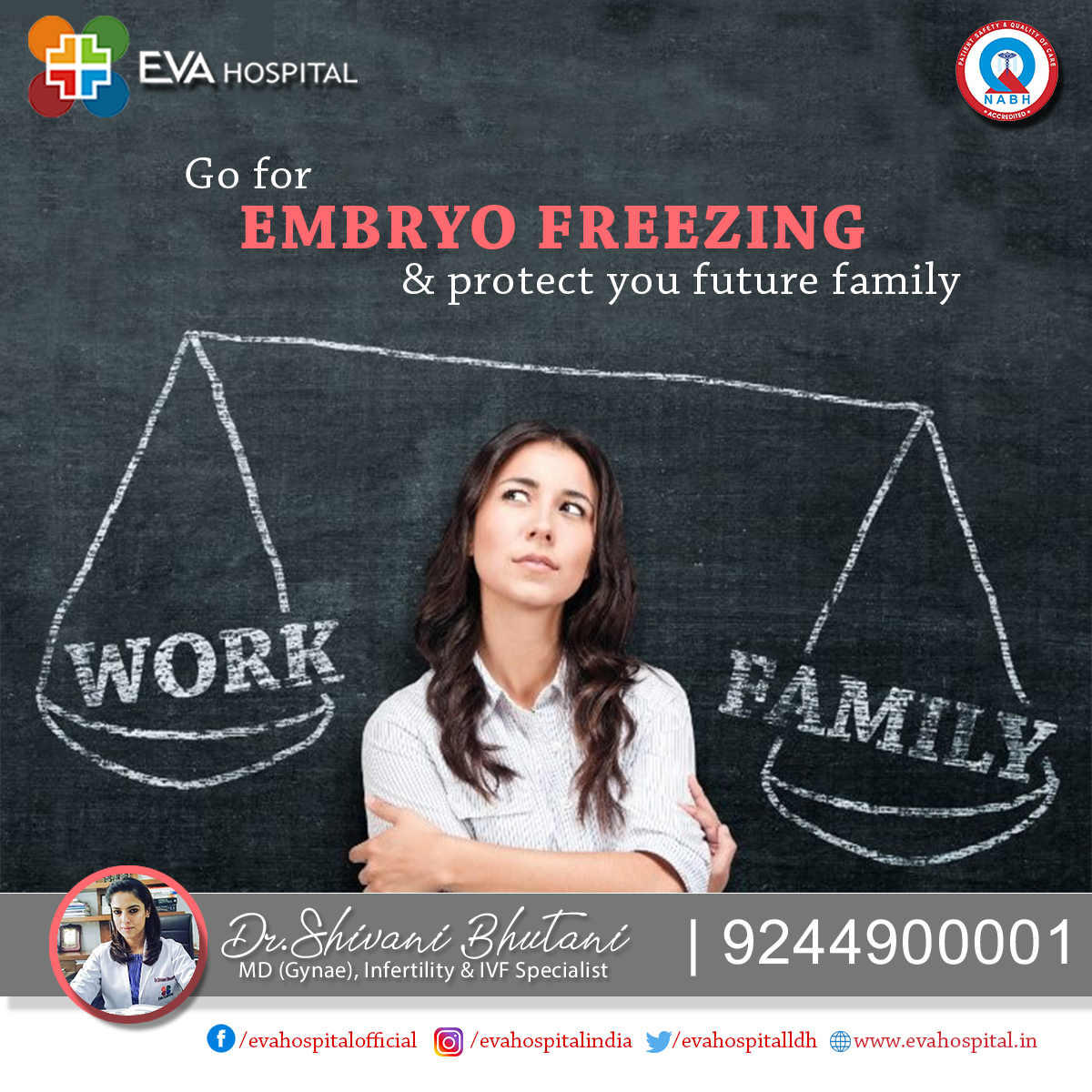 """""""Too busy"""" to consider starting a family just yet? EMBRYO FREEZING is for you."""