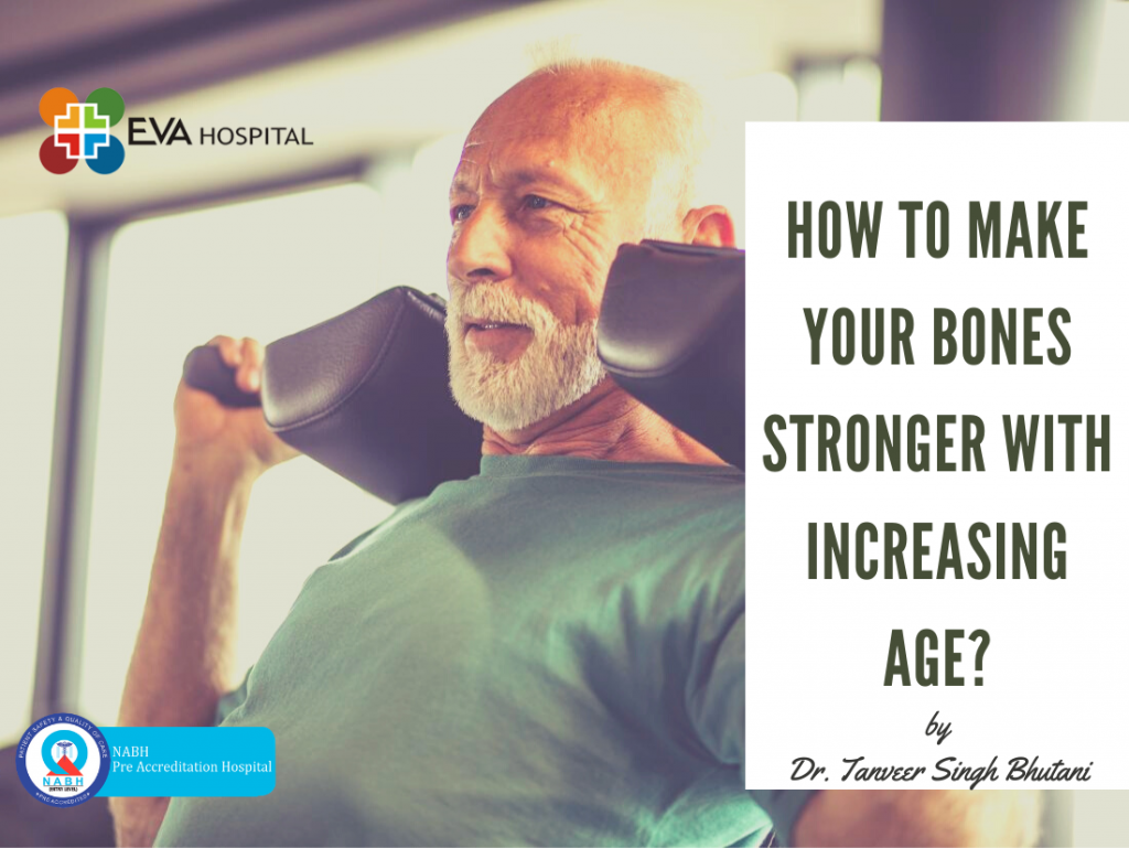 Bones strength with increasing age