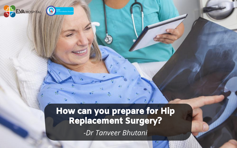 preparation for hip replacement surgery