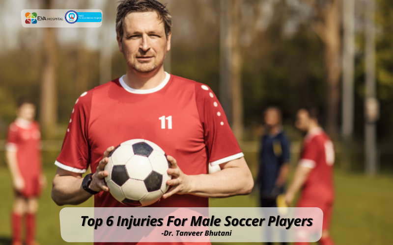 Eva Top 6 Injuries For Male Soccer Players
